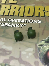 Crazy Dummy CRYE Warriors Special Ops Spanky Grenades x 2 loose 1/6th scale