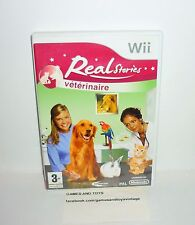 JEU NINTENDO WII COMPLET REAL STORIES VETERINAIRE