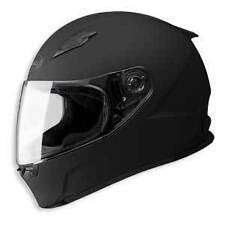 NEW GMAX MOTORCYCLE MATTE FLAT BLACK HELMET SIZE LARGE FULL FACE GM49
