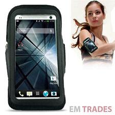Pulsera deportivo para HTC One m7, funda protectora, funda, protección bolsa Bag negro aerobic 19