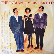 """THE INDIAN GIVERS - Fake I.D. (12"""") (Signed) (VG/VG)"""