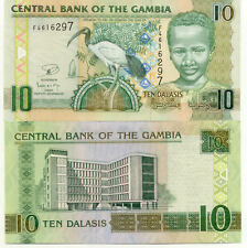 Billet banque GAMBIE GAMBIA 10 DALASIS 2013 NEUF NEW UNC