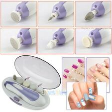 Manicure Professional Electric Nail File Drill Tool Pedicure Toe Machine Set Kit