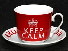 CREATIVE TOPS KEEP CALM and… Porcelain Cup & Saucer Set #2