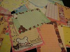 Kawaii San-X Chocopa Peinguin Bear Panda Large Loose Memo Sheets 25pcs (1)