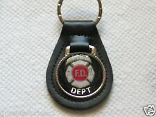 Fire Dept. Keychain Key Fob (#863)