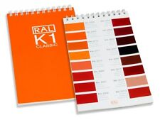 RAL K1 Classic Colour Chart - Brand new. Ring bound guide. UK delivery only 99p.