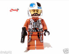 LEGO Star Wars - The Force Awakens - Resistance X-Wing Pilot *NEW* from 75125