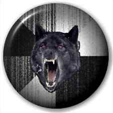 Insanity Wolf 25Mm Pin Button Badge Lapel Pin Werewolf