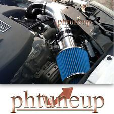 BLACK 2007-2009 PONTIAC G5 GT 2.2 2.2L 2.4 2.4L AIR INTAKE KIT + BLUE FILTER