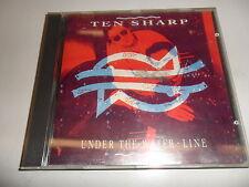 CD  Ten Sharp - Under the Water-Line