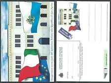 2006 SAN MARINO CARTOLINA POSTALE AMBASCIATA ITALIANA MNH ** - ED