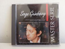 CD ALBUM SERGE GAINSBOURG Master serie Vol 1 Love on the beat .. 832230 2