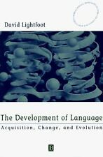 Blackwell/Maryland Lectures in Language and Cognition: The Development of...