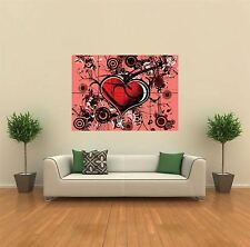 ABSTRACT LOVE NEW GIANT POSTER WALL ART PRINT PICTURE G305