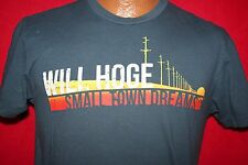 WILL HOGE Small Town Dreams Concert Tour T-SHIRT S Americana Country Rock