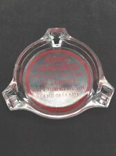 Vintage 40s or 50s ~ ASHTRAY~ Home Comforts Advertisement -TV Service-L.A.
