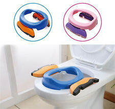 New Children Kids Foldable Portable Toddler Training Ourdoor Potty Toilet Seat