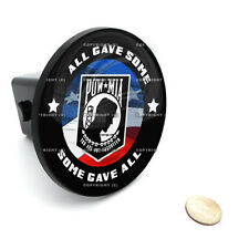 "2"" Tow Hitch Receiver Plug Cover Insert For SUV's & Trucks - ""POW MIA USA"""