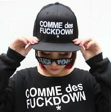 2014 men's women's hip pop G-dragon snapback hat baseball cap comme des fuckdown