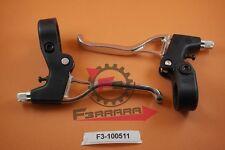 F3-1100511 Coppia LEVE FRENO 3 DITA Alluminio E NYLON   Bicicletta  Ciclo