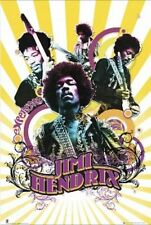 MUSIC POSTER Jimi Hendrix Collage