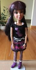 Liv Doll Beautiful Brown Hair/Eyes Doll.Spin Master 2009.Earrings/Clothes/Shoes.