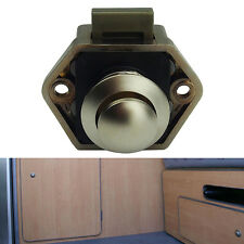 Mini Push Button Catch lock Pop Up Knob RV/Caravan/Boat/Motor Home/Cupboard