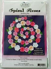 Quilled Creations Spiral Roses Quilling Kit with Designs and Paper NIP