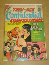 TEEN-AGE CONFIDENTIAL CONFESSIONS #4 VG+ (4.5) CHARLTON COMICS JANUARY 1961