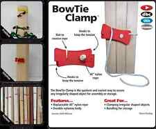 New FastCap Bowtie Clamp Strap Nylon Rope 4 PC