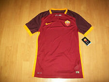 BNWT AS Roma Player Issue match shirt, medium, Nike, superb, UK FREEPOST!