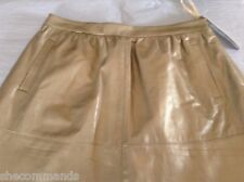 NEW DKNY Leather Skirt - 10