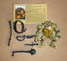 1991 Teenage Mutant Ninja Turtles TMNT figure Tokka - 100% complete