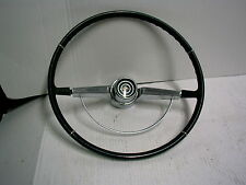 1965 1966 ? CHEVROLET IMPALA STEERING WHEEL WITH CHROME HORN RING