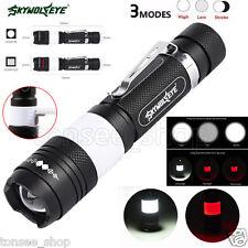 Taktische Stablampe G700 X 800 XML T6 LED Militär Taschenlampe Zoombare Lampe
