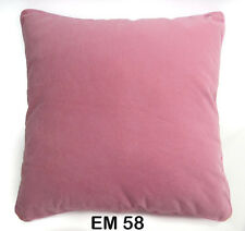 Mb+9 Soft Flat Velvet Style Plain Color Cushion Cover/Pillow Case Custom Size