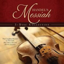 Handel's Messiah 3-Disc Collection:  The Complete Messiah on Two CDs Brand New