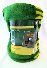 John Deere Plush Throw Have You Hugged Your Tractor Today 50 X 60 inches