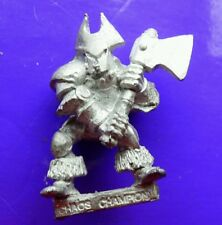 CH3 Champion of Chaos realms metall Zitadelle GW games workshop Vostnar AxeLord