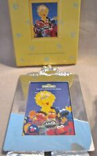 New in Box Cookie Monster Sesame Street Silver Plated Picture Frame 4 x 6