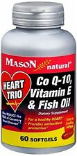 Mason Natural Heart Trio Co Q-10, Vitamin E and Fish Oi