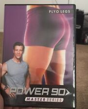 Power 90 Master Series Ploy Legs DVDs Workout Beach Body