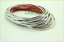 Silver Chrome TRIM FOR CAR INTERIOR EXTERIOR MOULDING STRIP DECORATIVE 5m