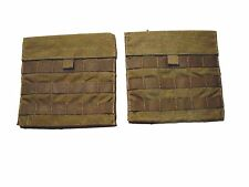 2 USMC COYOTE BROWN SIDE PLATE CARRIER POCKET SET 2-PCG-C-MC-SPP-MS-5SCOY EAGLE