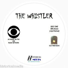 THE WHISTLER - 484 Shows Old Time Radio In MP3 Format OTR On 6 CDs