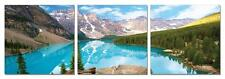 "47"" FRAMED Hot Modern Contemporary Canvas Wall Art Print Painting Mountain Lake"