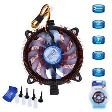 CPU Quiet Cooler Cooling Fan Heatsink Rad for Intel LGA 775/115X AMD AM2/75