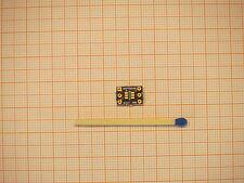 SOT23-6 auf 6 pin DIP Platine ca. 10x7 mm zweilagig PCB vergoldet für MAX809 Res