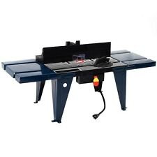US Stock Aluminum Electric Router Table Wood Working Craftsman Tool Benchtop